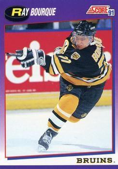 1991 Score American #50 Ray Bourque - Standard