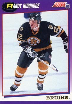 1991 Score American #102 Randy Burridge - Standard