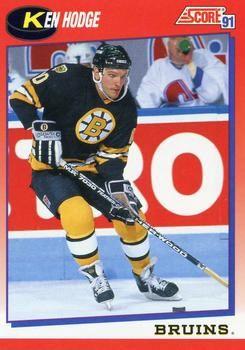 1991 Score Canadian #113 Ken Hodge - Standard
