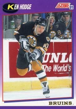 1991 Score American #113 Ken Hodge - Standard