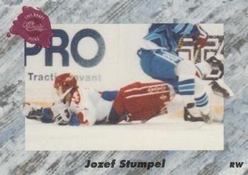 1991 Classic #34 Jozef Stumpel - Standard