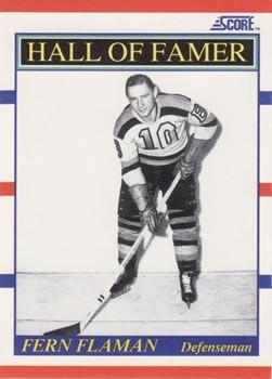 1990 Score American #357 Fern Flaman - Standard