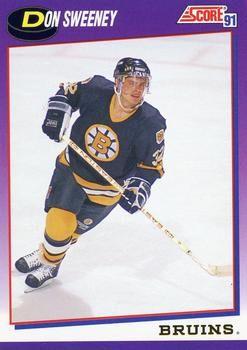 1991 Score American #146 Don Sweeney - Standard