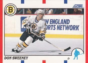 1990 Score American #51 Don Sweeney - Standard