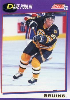 1991 Score American #232 Dave Poulin - Standard
