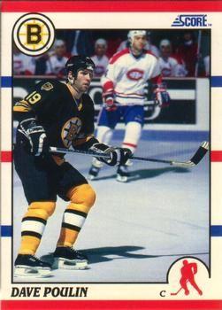 1990 Score American #217 Dave Poulin - Standard