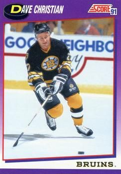 1991 Score American #292 Dave Christian - Standard