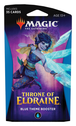 Magic the Gathering Throne of Eldraine Theme Booster - Blue