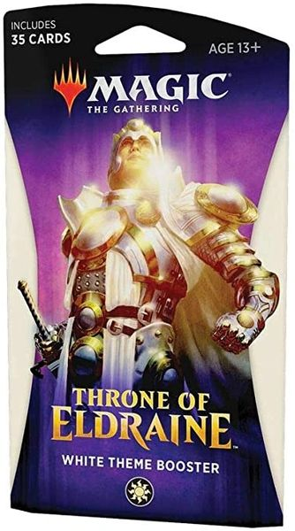 Magic the Gathering Throne of Eldraine Theme Booster - White