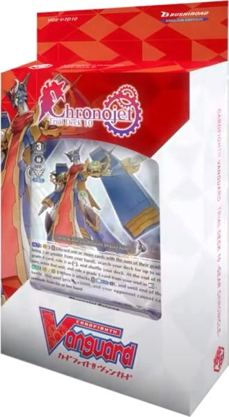 "Cardfight!! Vanguard Trial Deck 10 -Gear Chronicle- ""Chronojet"" VGE-V-TD10 by Bushiroad"