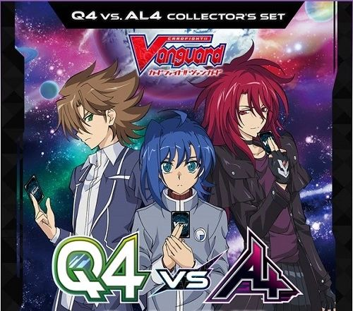 Cardfight!! Vanguard Q4 vs AL4 Collector's Set