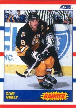 1990 Score American #340 Cam Neely - Standard
