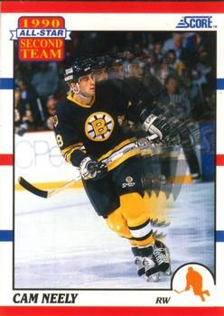1990 Score American #323 Cam Neely - Standard