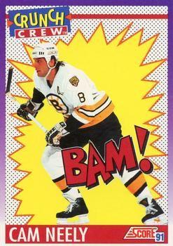 1991 Score American #301 Cam Neely - Standard