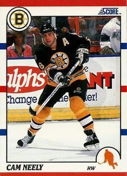 1990 Score American #4 Cam Neely - Standard