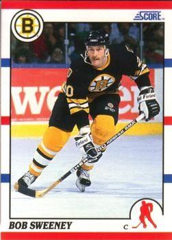 1990 Score American #235 Bob Sweeney - Standard