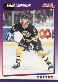 1991 Score American #162 Bob Carpenter - Standard