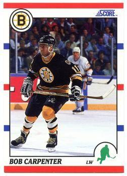 1990 Score American #16 Bob Carpenter - Standard