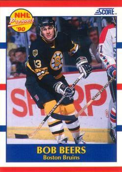 1990 Score American #385 Bob Beers - Standard