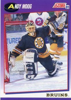 1991 Score American #90 Andy Moog - Standard