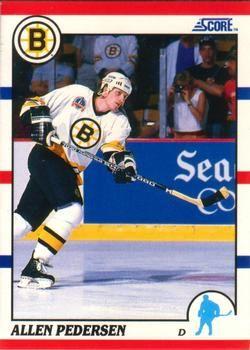 1990 Score American #181 Allen Pedersen - Standard