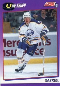 1991 Score American #84 Uwe Krupp - Standard