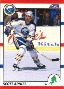 1990 Score American #251 Scott Arniel - Standard