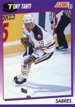 1991 Score American #49 Tony Tanti - Standard