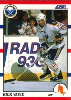 1990 Score American #103 Rick Vaive - Standard