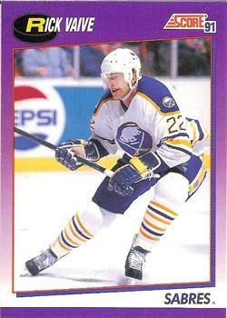 1991 Score American #26 Rick Vaive - Standard