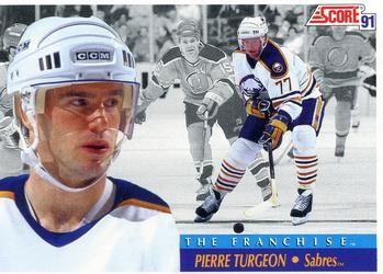 1991 Score American #416 Pierre Turgeon - Standard