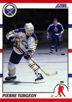 1990 Score American #110 Pierre Turgeon -Standard