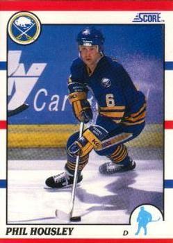 1990 Score American #145 Phil Housley - Standard