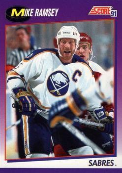 1991 Score American #61 Mike Ramsey - Standard