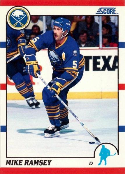 1990 Score American #23 Mike Ramsey - Standard