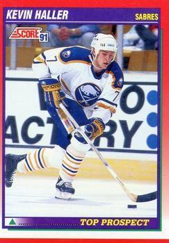 1991 Score Canadian #276 Kevin Haller - Standard