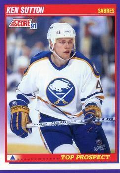 1991 Score American #393 Ken Sutton - Standard