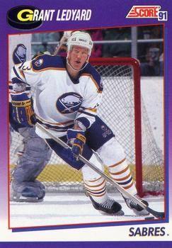 1991 Score American #362 Grant Ledyard - Standard