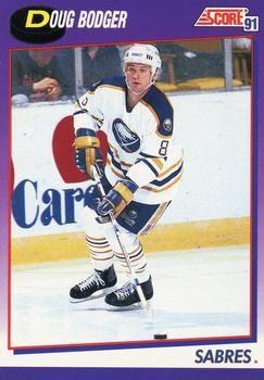 1991 Score American #297 Doug Bodger - Standard