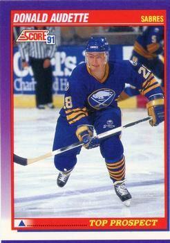 1991 Score American #389 Donald Audette - Standard