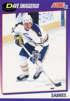 1991 Score American #206 Dave Snuggerud - Standard