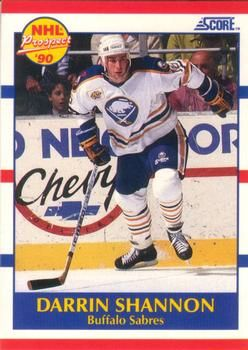1990 Score American #410 Darrin Shannon - Standard