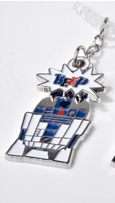 Star Wars Swing Charm Charapin (R2D2) by gourmandise