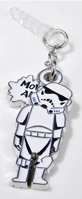 Star Wars Swing Charm Charapin (Stormtrooper) by gourmandise
