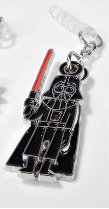 Star Wars Swing Charm Charapin (Darth Vader) by gourmandise
