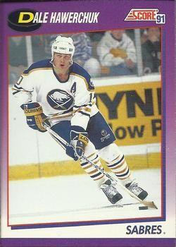 1991 Score American #259 Dale Hawkerchuk - Standard