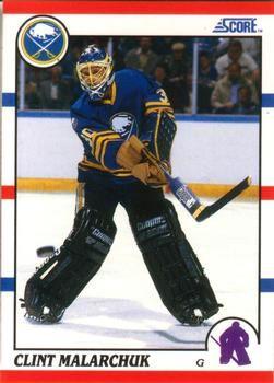 1990 Score American #289 Clint Malarchuk - Standard