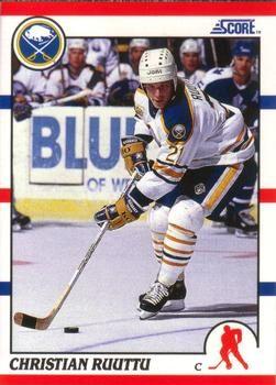 1990 Score American #77 Christian Ruuttu - Standard