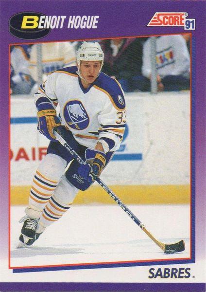 1991 Score American #134 Benoit Hogue - Standard
