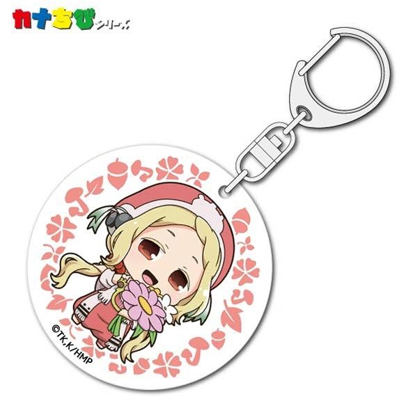 "KanaChibi Acrylic Key Holder ""Hakumei and Mikochi (Konju)"" by ACG"